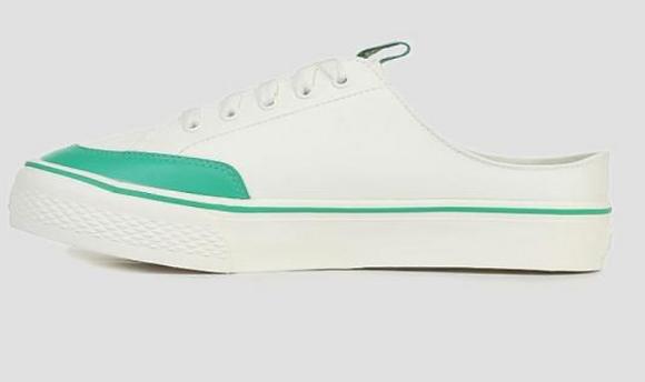 Giày Fila Korea Double Marker Slip On Sneaker In Green 100% chính hãng