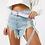 Thumbnail: Dây Đai Puma Logo Taping Belt With Clip Buckle In Lilac 100% chính hãng