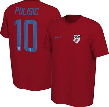 Áo Nike  Christian Pulisic #10 Tuyển Quốc Gia Mỹ 100% Chính Hãng