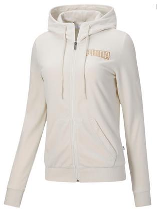Áo Khoác Nữ Puma Modern Basics Women's Velour Full Zip Hoodie 100% chính hãng