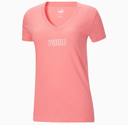 Áo Thun Nữ Puma Modern Basics Pink 100% Chính Hãng