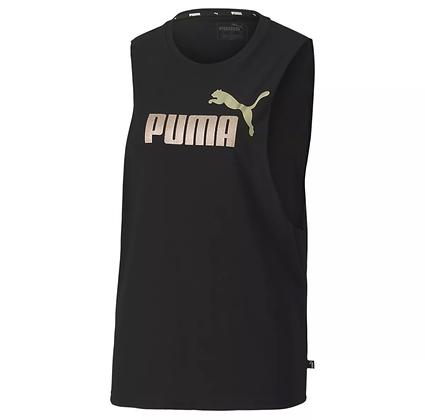 Áo Thun Ba Lỗ Nữ Puma Essention Metallic Cut Off 100% Chính Hãng