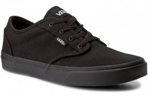 Giày Unisex Vans Atwood Black/Black Sneakers/Shoes 100% Chính Hãng