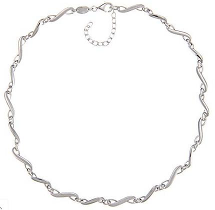 Dây Chuyền Bạc 925 Fossil Collier Femme Silver Necklace 100% chính hãng