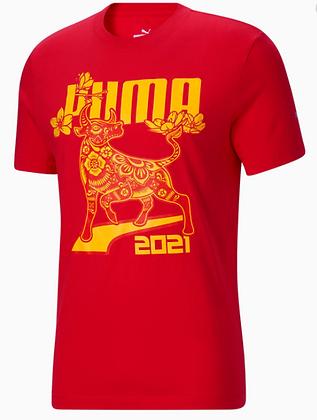 Áo Thun Nam Puma Red Lantern Ox Men's Tee 100% chính hãng