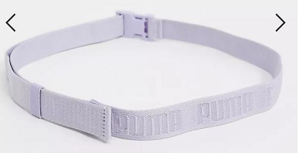 Dây Đai Puma Logo Taping Belt With Clip Buckle In Lilac 100% chính hãng