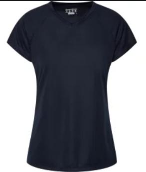 Áo Thun Nữ Champion Double Dry V Neck T shirt Women's 100% chính hãng
