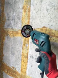 コンクリート 壁 冷たい