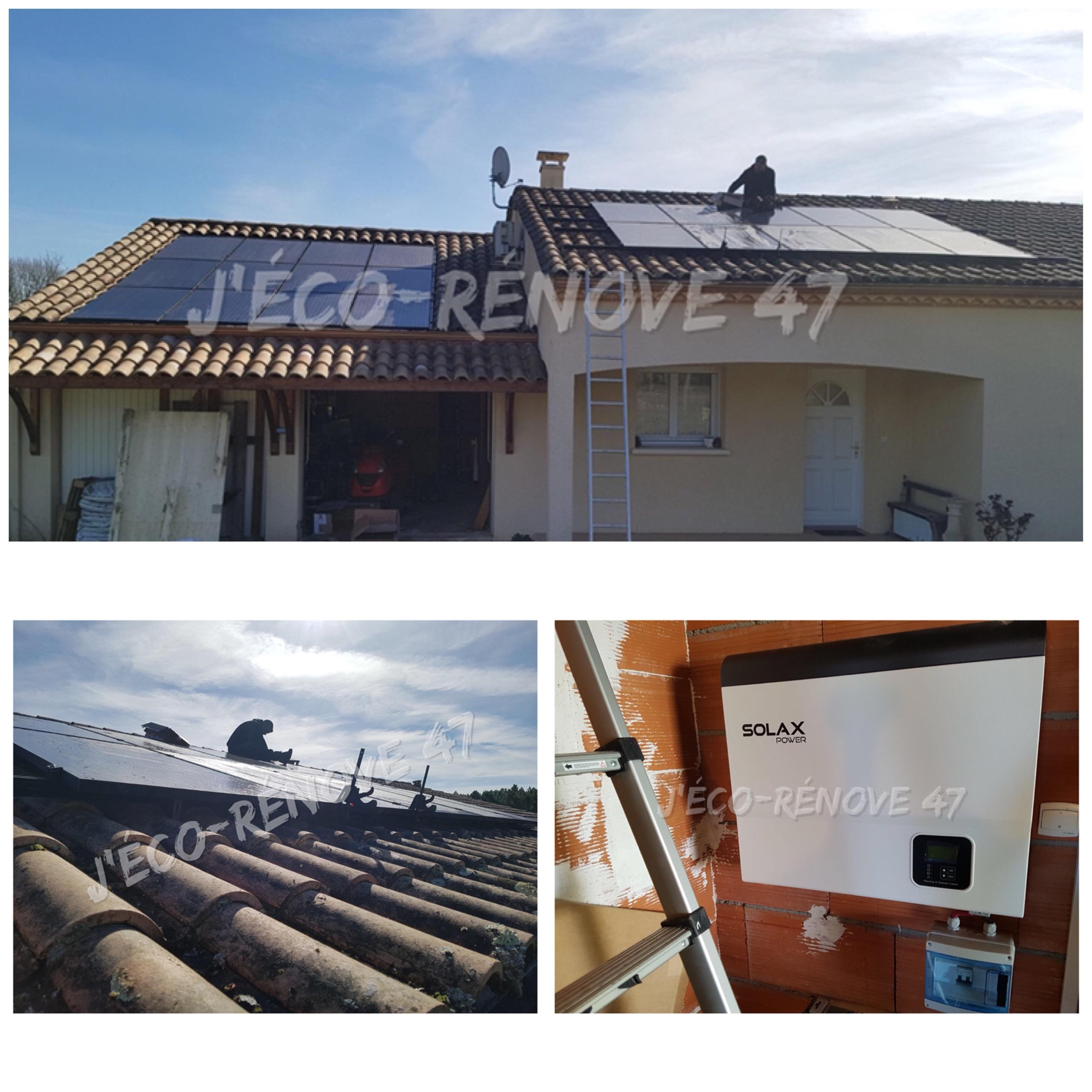 pose photovoltaique