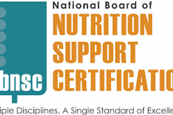 National Board of Nutrition Support Certification