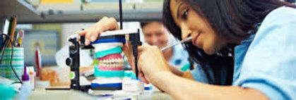 Prometric + PEARSON Vue McQs for Dental lab technicians