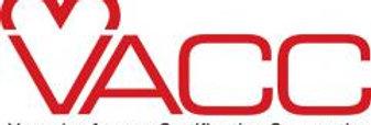 VACC - VASCULAR ACCESS CERTIFICATION CORPORATION