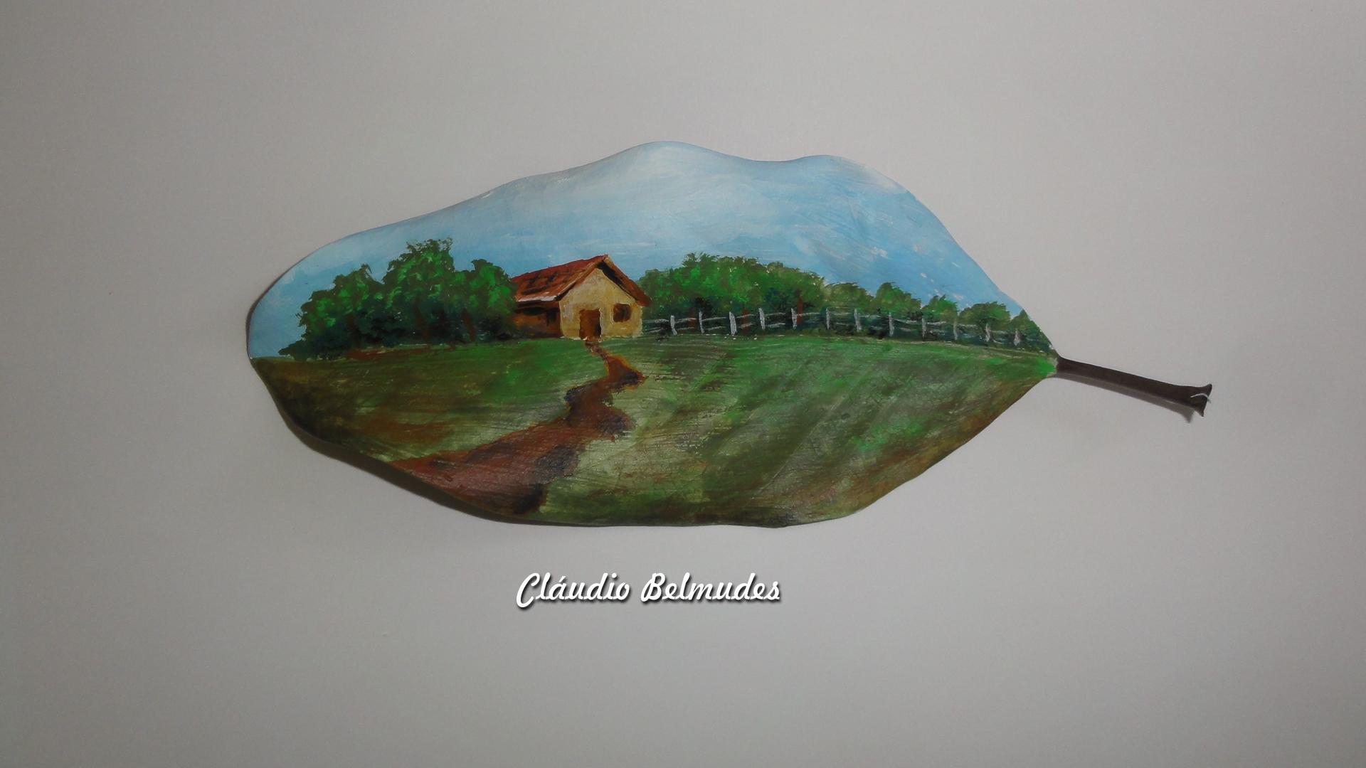 Paisagem - casa no campo
