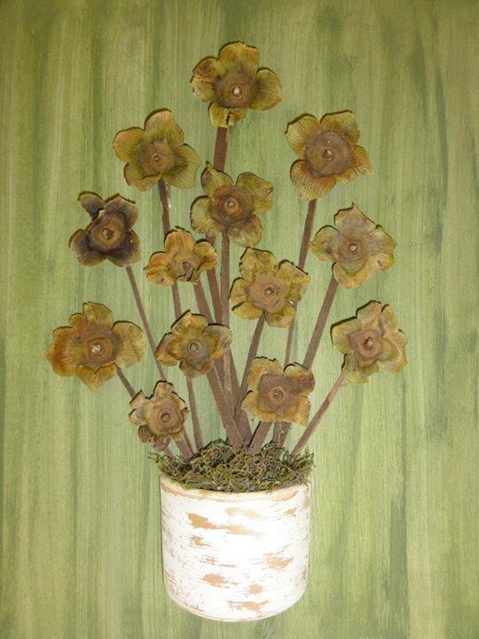Quadros com flores