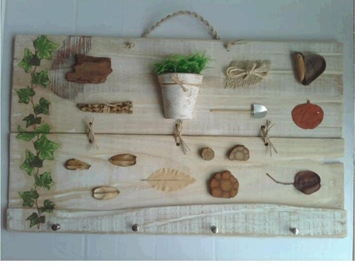 Caixote de legumes - Placa de jardinagem