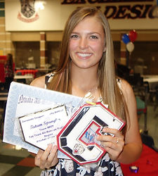 student athlete earns softball scholarship and signs National Letter of Intent