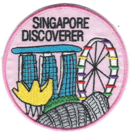 Singapore Discoverer Patch (EARNED)