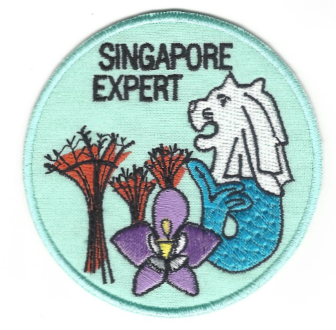 Singapore Expert Badge (replacement only)