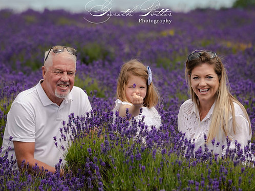Children and Family Portrait Session + Maxi Package