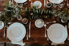 decoration table mariage vegetal or wedd