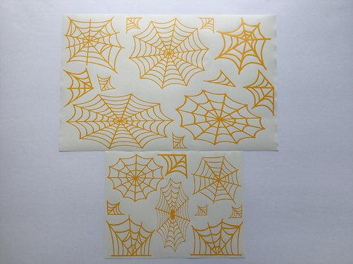 Spider Webs Stencil