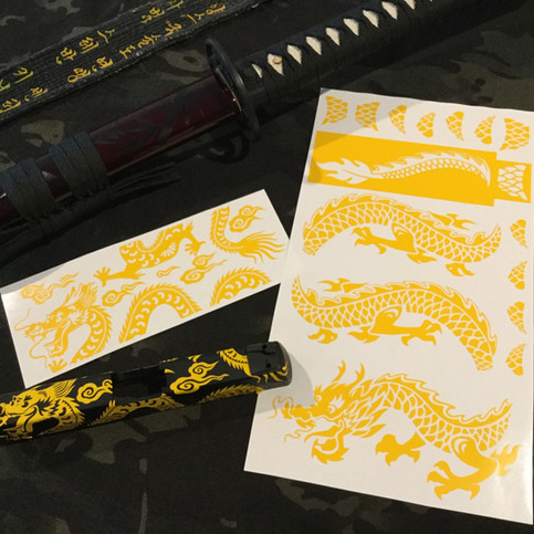 New Dragon Stencils!