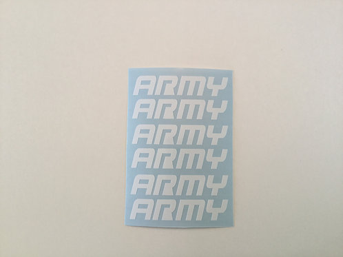 ARMY AR Mag Side Sticker 6 Pack