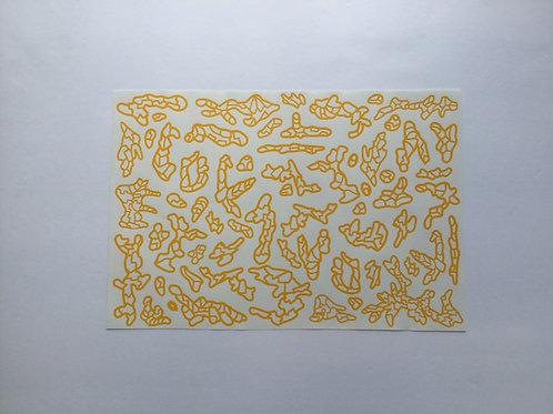 Woodland Tech Camo Stencil