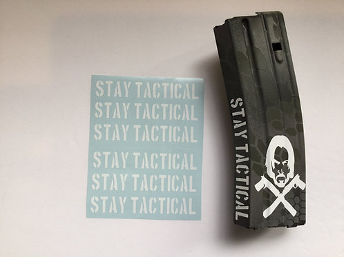 Stay Tactical AR Mag Side Sticker 6 Pack