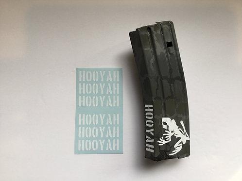 HOOYAH AR Mag Side Sticker 6 Pack