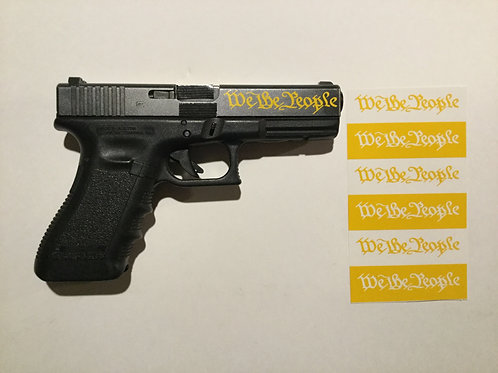 We The People Stencil Pack for GLOCK or Handguns