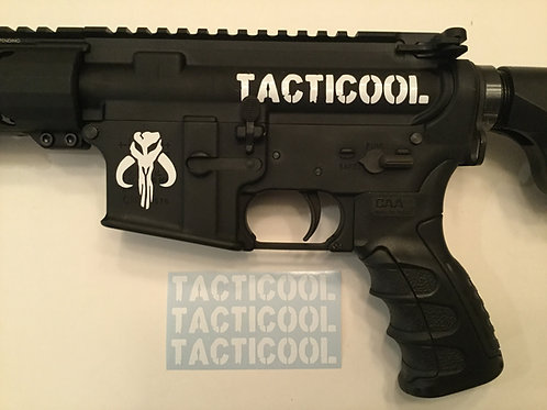 Tacticool AR 15 Upper Receiver Sticker 3 Pack