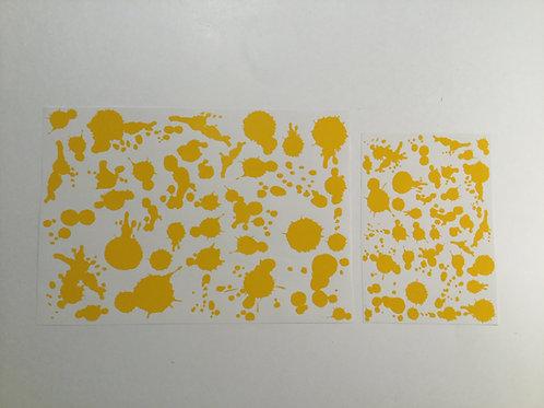 Blood Splatter Stencil