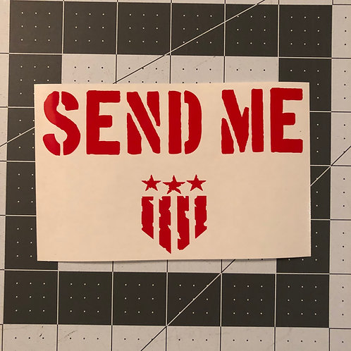 SEND ME General Use Sticker