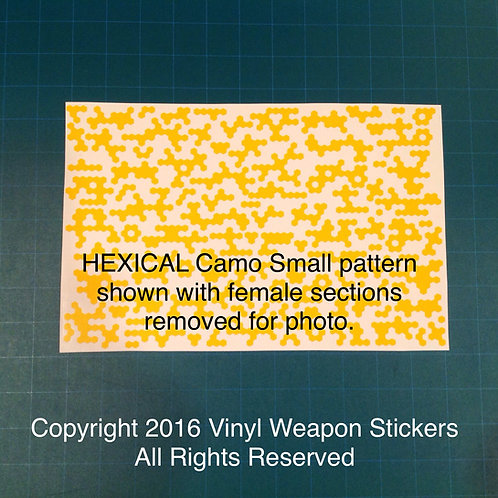 Hexical Camo Stencil Pack (Small Pattern)