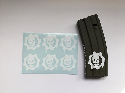 Gears of War AR Mag Sticker 6 Pack