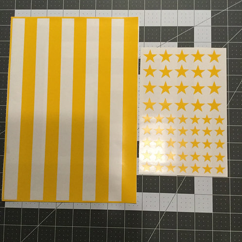Bars and Stars Flag Stencil Pack