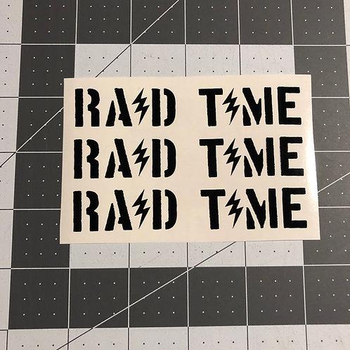 RAID TIME Subgun Magazine Sticker 3 Pack