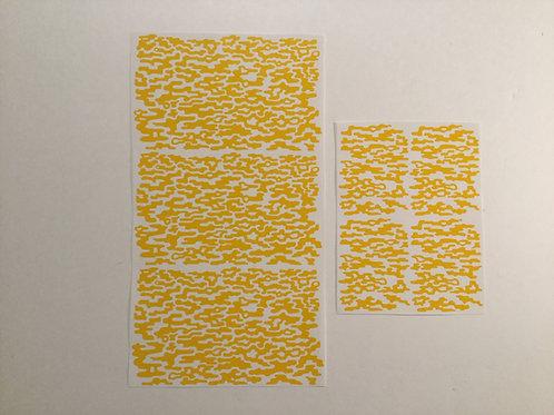 Small Pattern Gas Vapor Camo Stencil