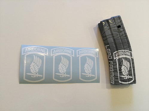 173rd Airborne AR Mag Sticker 3 Pack