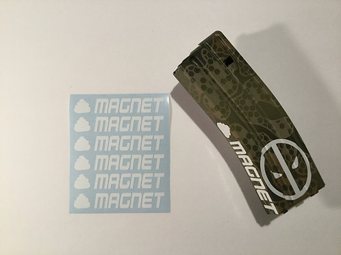 S**t Magnet AR Mag Side Sticker 6 Pack