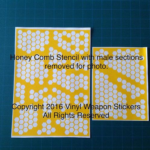 Honeycomb Stencil Pack