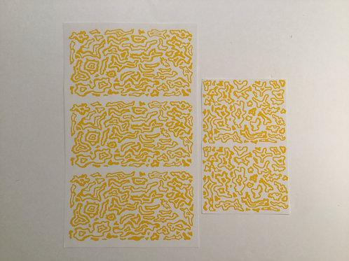 Small Pattern Topoflage Camo Stencil