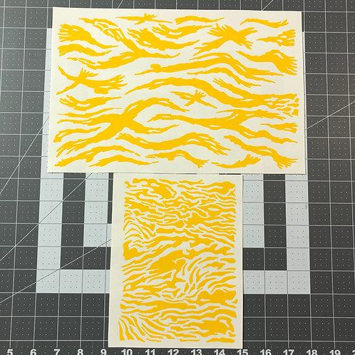 Vietnam Tiger Stripe Stencil Pack