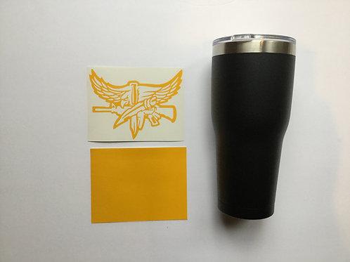 SWAT Symbol Tumbler or Growler Stencil