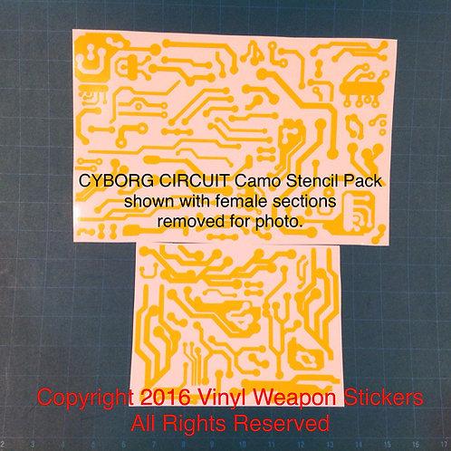Cyborg Circuit Camo