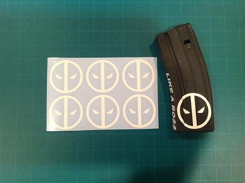 Deadpool Sticker 6 Pack