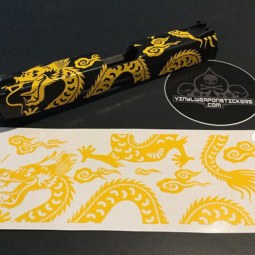 Chinese Dragon Stencil Pack for GLOCK