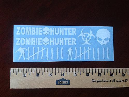 Zombie Hunter Weapon Sticker Pack