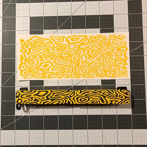 Topoflage 2.0 Stencil for Handgun Slide